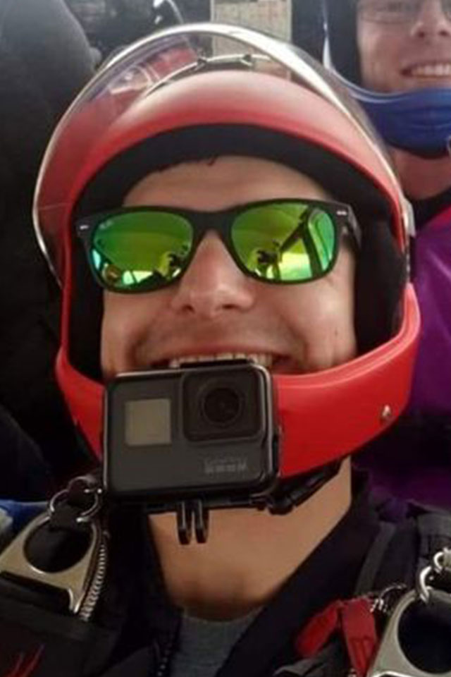 Anthony Vanlaarhoven AFF Instructor and Videographer at PNW Skydiving Center