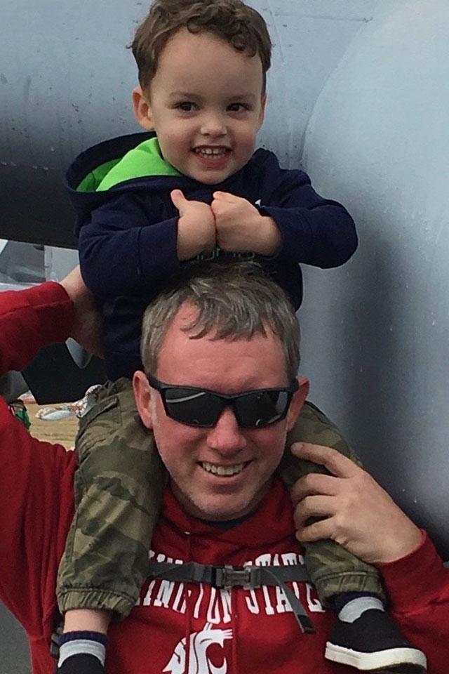 Brian Schneider AFF and Tandem Instructor at PNW Skydiving Center