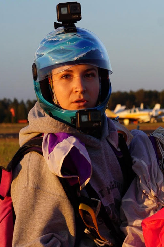 Demi Sumstad USPA Coach and Videographer at PNW Skydiving Center