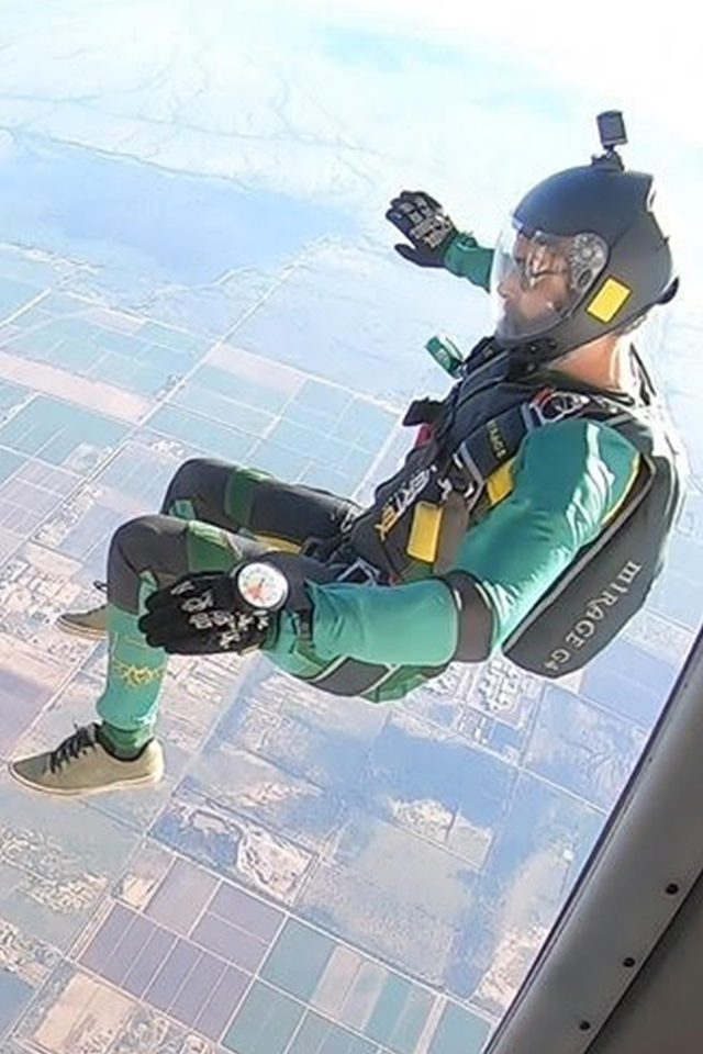 Stephen Butts USPA Coach at PNW Skydiving Center