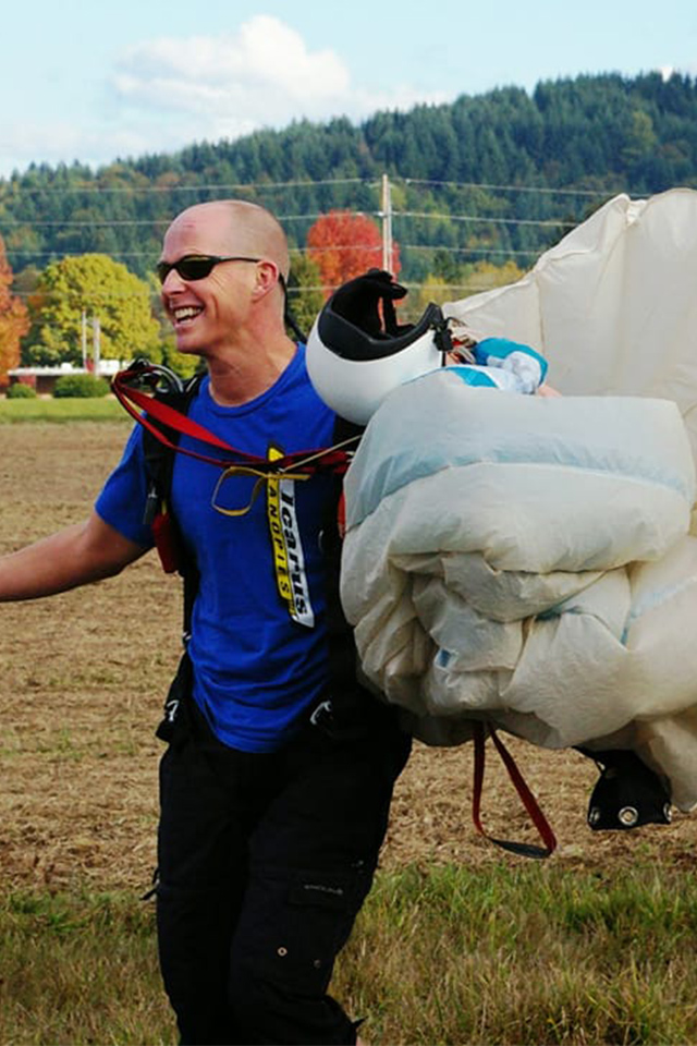 David Thorp owner of PNW Skydiving Center