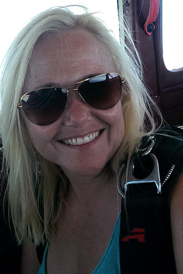 Natalie Thorp owner of PNW Skydiving Center